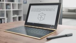 Lenovo Yoga Book s virtuální klávesnicí nebo touchpadem po celé ploše