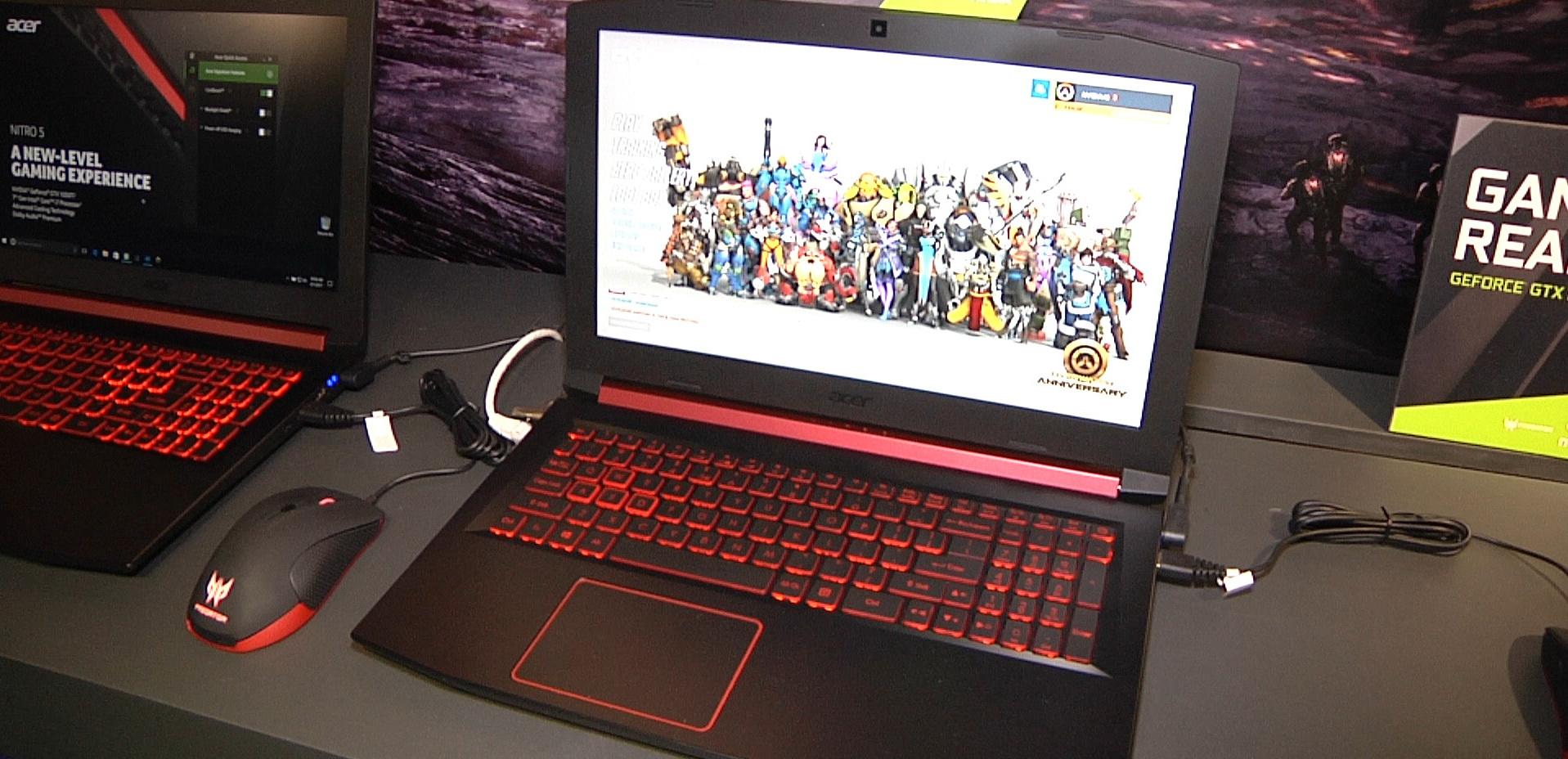 Acer notebooky Nitro 5 a Swift 3 poháněné 2. generací mobilních procesorů AMD Ryzen Mobile