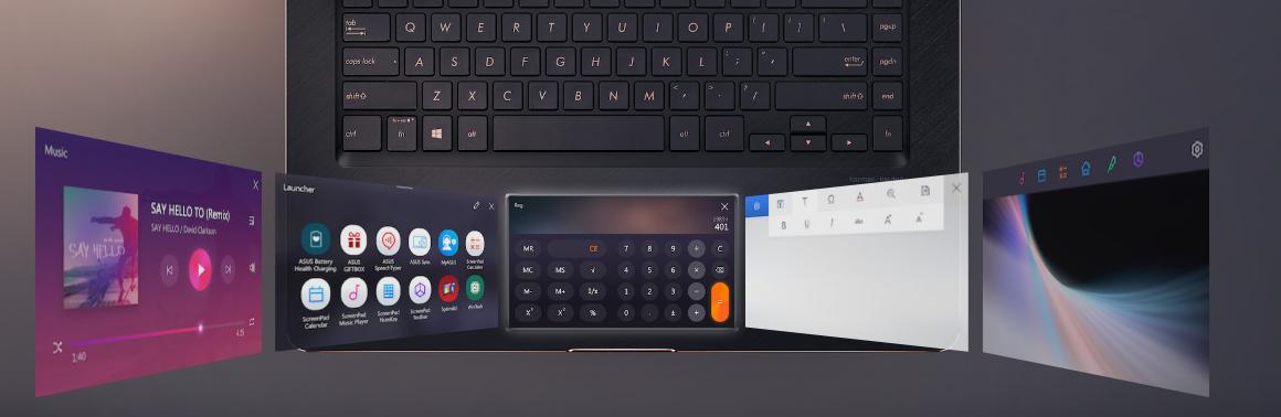 Dokonalý ASUS ZenBook Pro 15, notebook s druhým displejem místo touchbaru