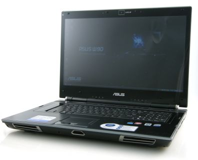 DTR notebook ASUS W90