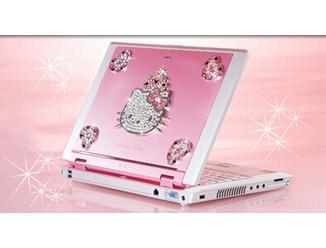 NEC Hello Kitty notebook