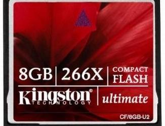 Nová paměťová karta: Kingston Ups CF Ultimate