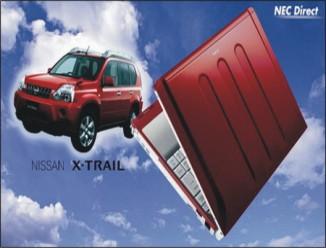 NEC vypouští notebook Nissan X-Trail