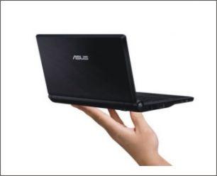 Asus Eee sub notebook v černém provedení vstupuje do prodeje