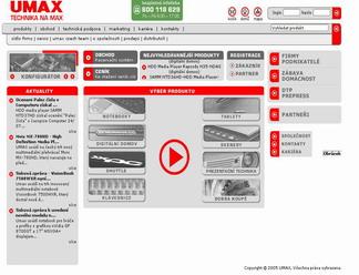 Servisní středisko UMAX