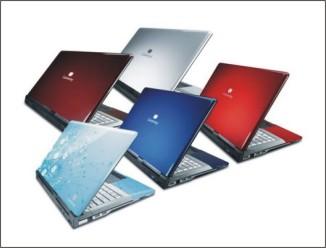 Gateway a nové barevné variace notebooků série M a T