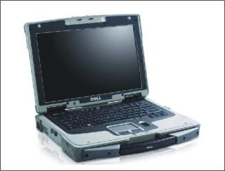 Dell a odolný notebook Latitude XFR D630