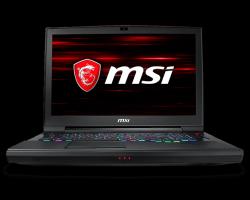 Laptop ze série GT - GT75 TITAN 8RG s jádrem 8 generace i9
